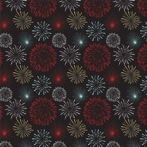 Magical Adventure 2 Collection Fun Fireworks 12 x 12 Scrapbook Paper by Echo Park Paper