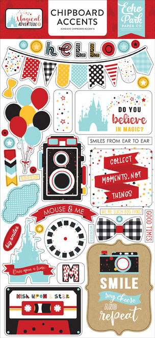 Magical Adventure 2 Collection Magical Adventure 2 6 x 13 Chipboard Accents by Echo Park Paper