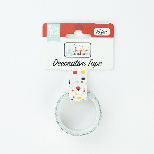 Magical Adventure 2 Collection Decorative Tape -Magical Dot by Echo Park Paper