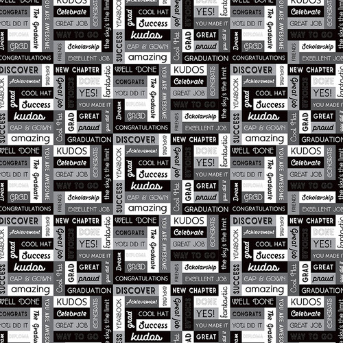 Grad Day Collection Bright Future 12 x 12 Double-Sided Scrapbook Paper by Photo Play Paper