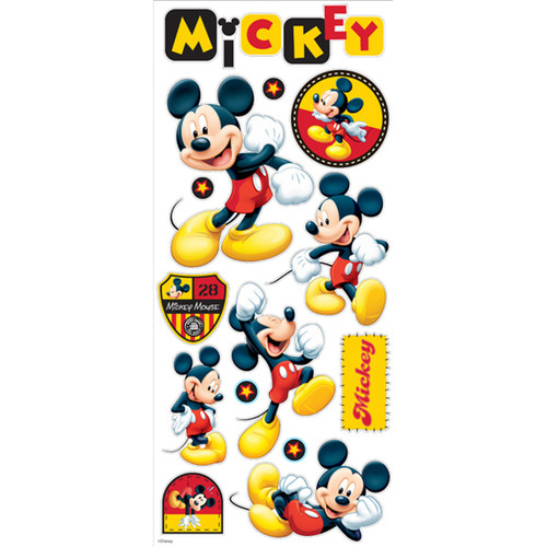 Disney Collection Mickey Mouse 6 x 12 Large Sticker Sheet by EK Success