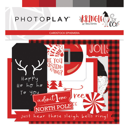 Kringle & Co Collection 4 x 4 Ephemera Tags by Photo Play Paper