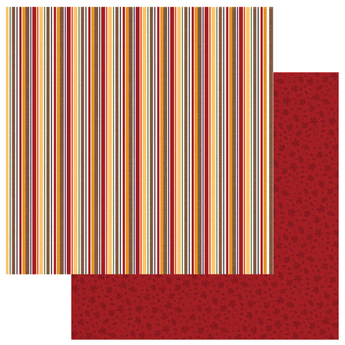 Mad 4 Plaid Fall Collection Cozy 12 x 12 Double-Sided Scrapbook Paper by Photo Play Paper