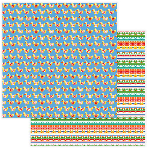 State Fair Collection Win Me 12 x 12 Double-Sided Scrapbook Paper by Photo Play Paper