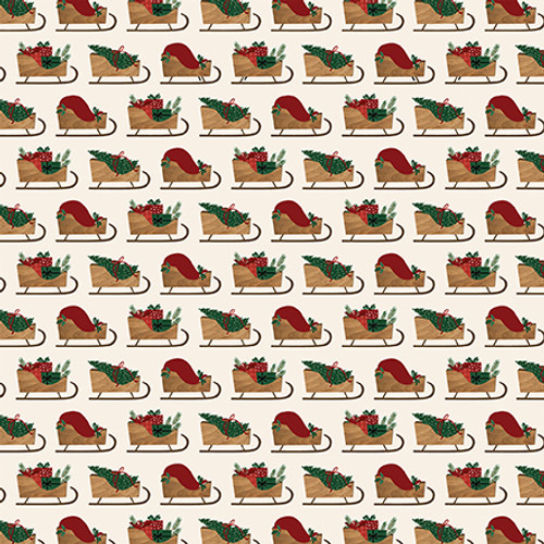A Cozy Christmas Collection Border Strips 12 x 12 Double-Sided Scrapbook Paper by Echo Park Paper