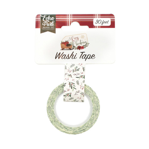 A Cozy Christmas Collection Tis The Season Washi Tape by Echo Park Paper