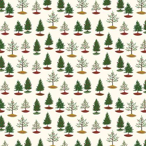 Here Comes Santa Claus Collection Holly Berries 12 x 12 Double-Sided Scrapbook Paper by Echo Park Paper