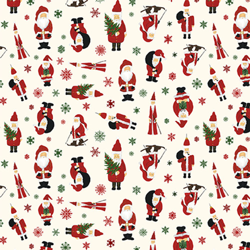 Here Comes Santa Claus Collection Jingle All The Way 12 x 12 Double-Sided Scrapbook Paper by Echo Park Paper
