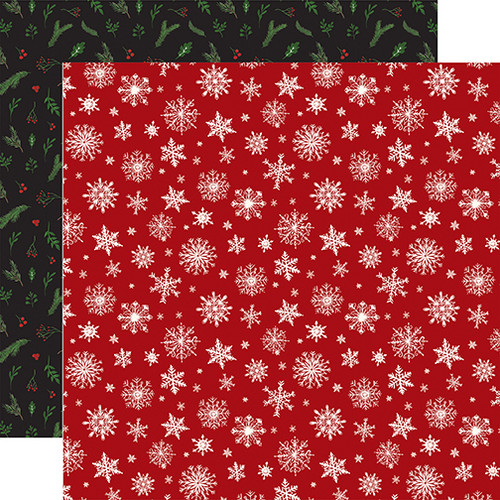 Here Comes Santa Claus Collection Merry Little Christmas 12 x 12 Double-Sided Scrapbook Paper by Echo Park Paper