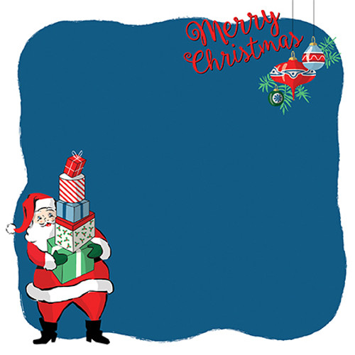 Merry Christmas Collection Christmas Prep 12 x 12 Double-Sided Scrapbook Paper by Carta Bella