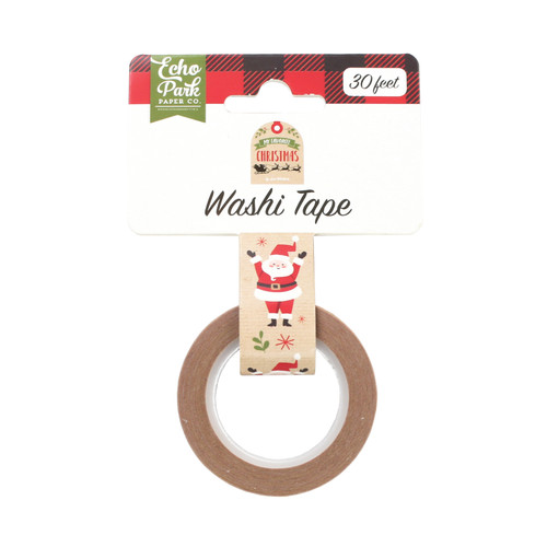 My Favorite Christmas Collection Celebrate Santa Washi Tape by Echo Park Paper