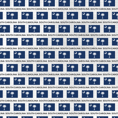Memories Collection South Carolina Memories 12 x 12 Double-Sided Scrapbook Paper by Scrapbook Customs