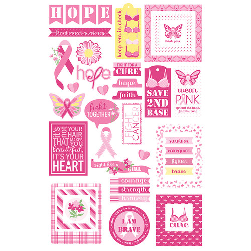 Operation: Save 2nd Base Collection 5 x 5 Cardstock Ephemera Die Cuts by Photo Play Paper