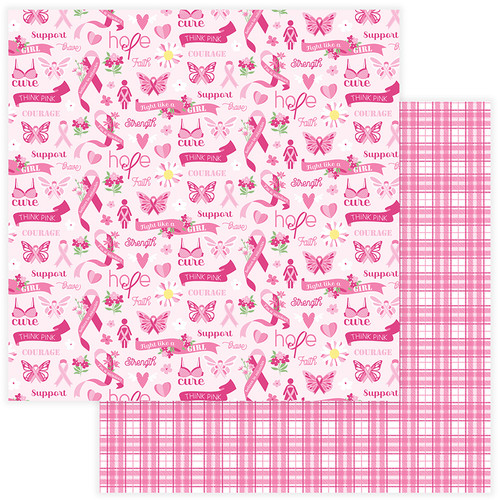 Operation: Save 2nd Base Collection Courage 12 x 12 Double-Sided Scrapbook Paper by Photo Play Paper