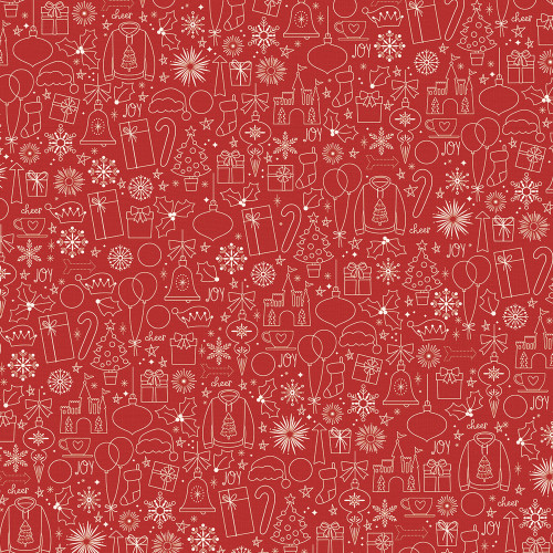 Say Cheese Christmas Christmas Magic 12 x 12 Double-Sided Scrapbook Paper by Simple Stories