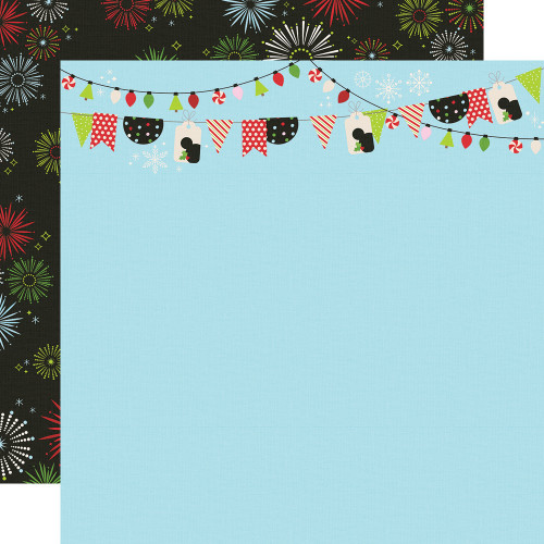 Say Cheese Christmas Believe In Magic 12 x 12 Double-Sided Scrapbook Paper by Simple Stories