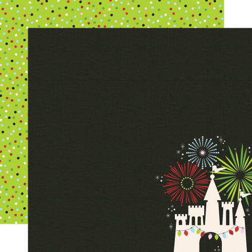 Say Cheese Christmas Magical Place 12 x 12 Double-Sided Scrapbook Paper by Simple Stories