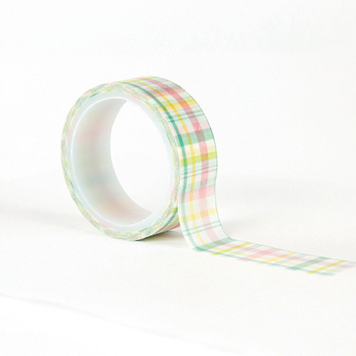 Easter Wishes Collection Easter Plaid Washi Tape by Echo Park Paper - 15 Feet