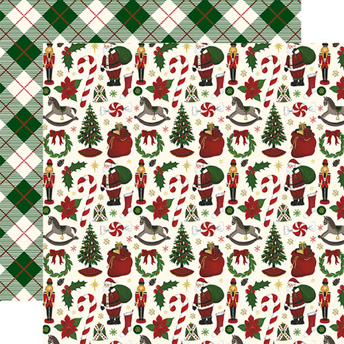 'Twas The Night Before Christmas Volume I 12 x 12 Collection Kit by Echo Park Paper - 13 Pieces