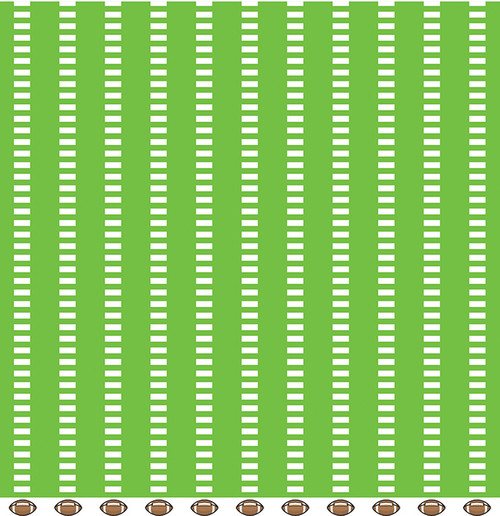Color of Memories Collection Footballs 12 x 12 Double-Sided Scrapbook Paper by American Crafts