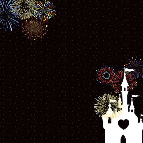 Another Day At The Park Collection Magic 12 x 12 Double-Sided Scrapbook Paper by PhotoPlay Paper