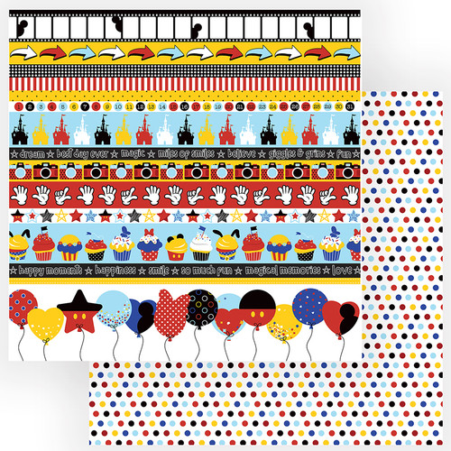 Another Day At The Park Collection So Much Fun 12 x 12 Double-Sided Scrapbook Paper by PhotoPlay Paper