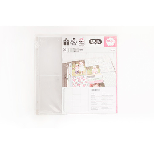 Ring Albums Made Easy Photo Sleeves Pack by We R Memory Keepers - 10 Pack