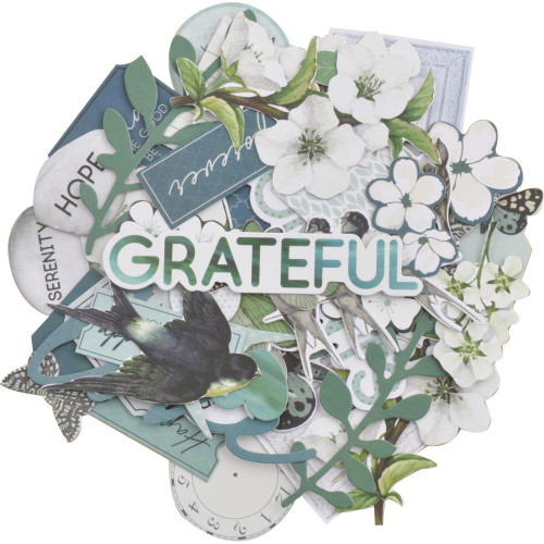 Morning Dew Collection 4 x 6 Collectables Scrapbook Die Cuts by Kaisercraft