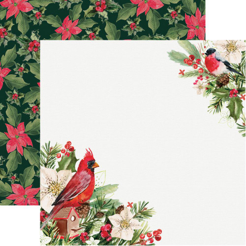 Peace & Joy Collection Rejoicing 12 x 12 Double-Sided Scrapbook Paper by Kaisercraft