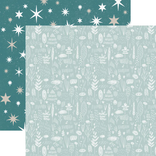 Wonderland Collection Stars 12 x 12 Double-Sided Scrapbook Paper by Kaisercraft