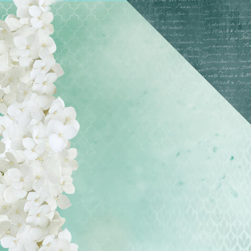 Morning Dew Collection Exhale 12 x 12 Double-Sided Scrapbook Paper by Kaisercraft