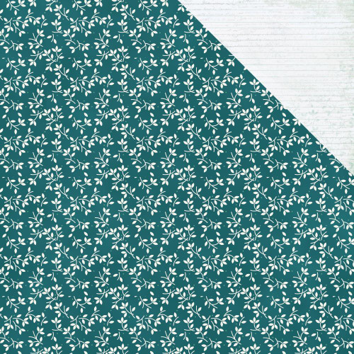 Morning Dew Collection Calming 12 x 12 Double-Sided Scrapbook Paper by Kaisercraft