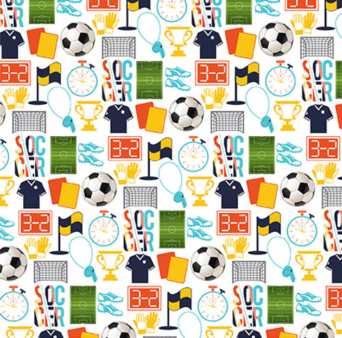 Soccer Collection Journaling Cards 12 x 12 Double-Sided Scrapbook Paper by Echo Park Paper