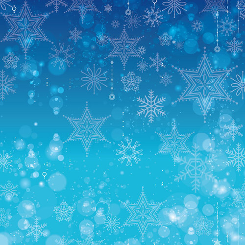 Magical Day of Fun Collection Ice Queen 12 x 12 Double-Sided Scrapbook Paper by Scrapbook Customs