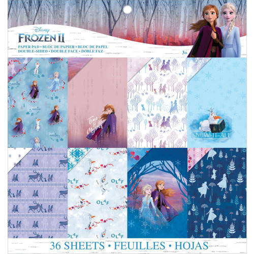 Disney Frozen 2 Collection 12 x 12 Scrapbook Paper Pad by American Crafts