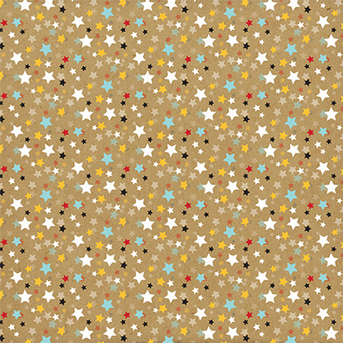 Remember The Magic Collection Tickets Please 12 x 12 Double-Sided Scrapbook Paper by Echo Park Paper