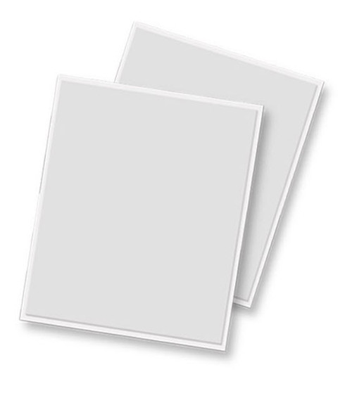 3D Self-Adhesive 4 x 5 White Foam Sheets by Scrapbook Adhesives - 2 Pieces