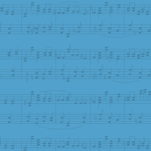 Musical Note Collection Orchestra Symphony 12 x 12 Double-Sided Scrapbook Paper By Scrapbook Customs