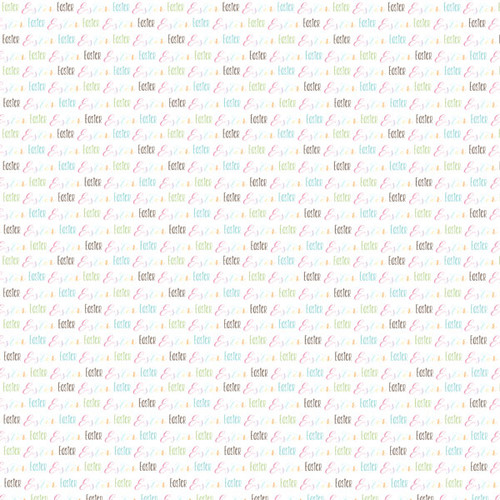 Easter Collection Easter Journal Cards 12 x 12 Double-Sided Scrapbook Paper by Scrapbook Customs