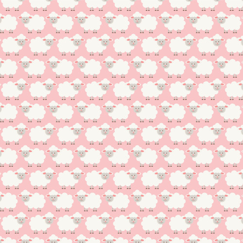 Sweet Baby Girl Collection Month Cards 12 x 12 Double-Sided Scrapbook Paper by Echo Park Paper