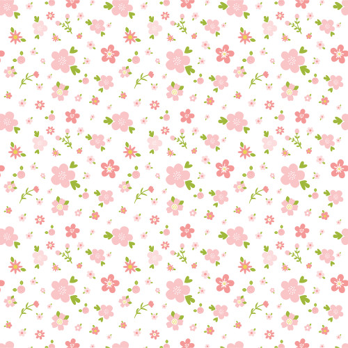 Sweet Baby Girl Collection Love You 12 x 12 Double-Sided Scrapbook Paper by Echo Park Paper