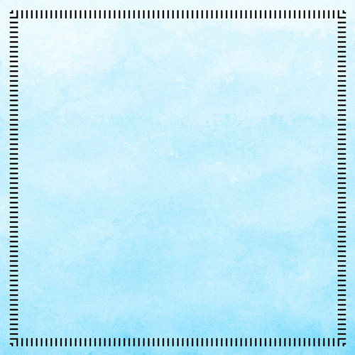 Postage Map Collection Alaska Adventure 12 x 12 Double-Sided Scrapbook Paper by Scrapbook Customs