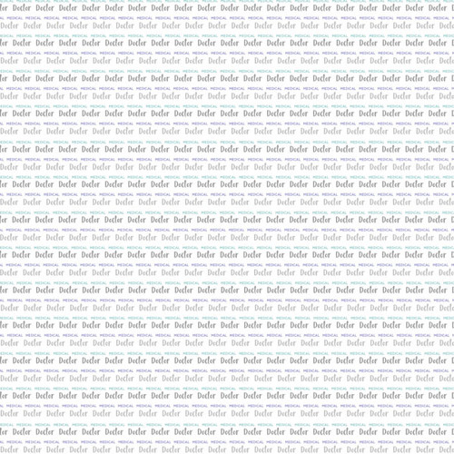 Occupation Collection Doctor MD Pride 12 x 12 Double Sided Scrapbook Paper by Scrapbook Customs