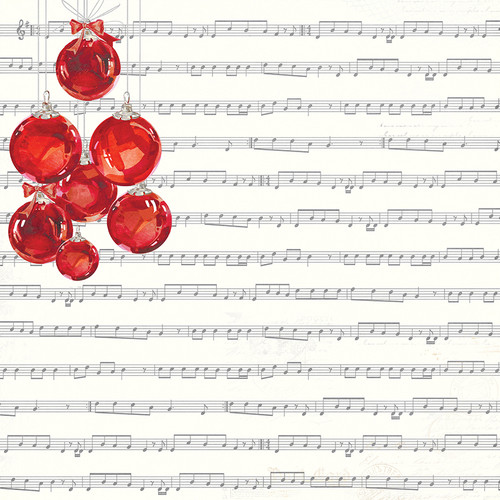 Christmas Cheer Collection Silent Night 12 x 12 Double-Sided Scrapbook Paper by Photo Play Paper