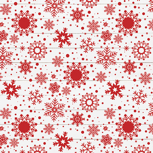 A Lumberjack Christmas Collection Jingle All The Way 12 x 12 Double-Sided Scrapbook Paper by Echo Park Paper