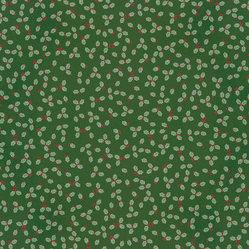 Jingle All The Way Collection Happy Ho Ho Ho 12 x 12 Double-Sided Scrapbook Paper by Simple Stories