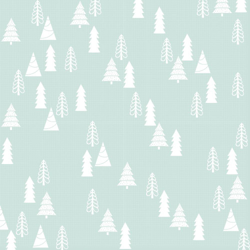 Peppermint Kisses Collection Holly Jolly 12 x 12 Double-Sided Scrapbook Paper by Kaisercraft