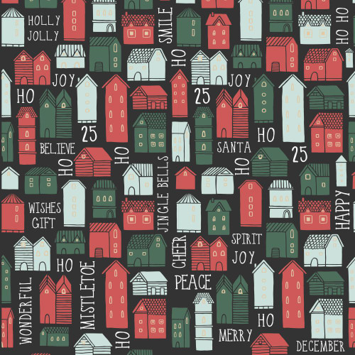 Peppermint Kisses Collection Combi Christmas 12 x 12 Double-Sided Scrapbook Paper by Kaisercraft
