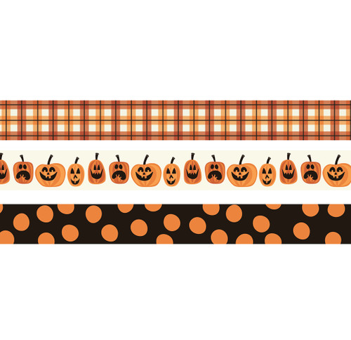 Boo Crew Collection Decorative Washi Tape by Simple Stories - (3) 15mm Rolls