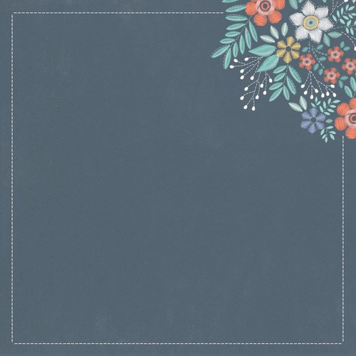 Crafternoon Collection Decoupage 12 x 12 Double-Sided Scrapbook Paper by Kaisercraft